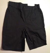 Women's Classic 2 PKT Stretch Shorts Black Size M (8-10) Average - $9.79