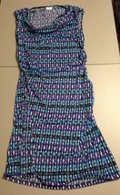 Women's Full Circle Dress Size XLarge Sleeveless Multi-Color Empowering ... - $16.65