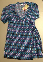 Women's Full Circle Dress Size Large Multi-Color Empowering Women - $13.71