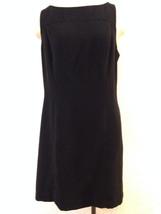 INC International Concepts LBD Black Career or Cocktail Dress - Ms Size ... - $18.31