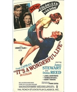 It's A Wonderful Life VHS Colorized James Stewa... - $1.99