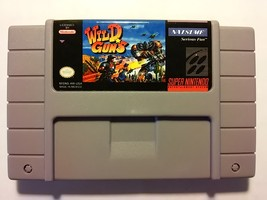 SNES Wild Guns ntsc usa super nintendo (read description) - $19.90