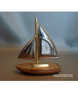 Elgin Sail Boat Shaped Clock with Quartz Movement  - $6.99
