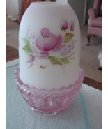 Fenton Lilacs and Roses Fairy Light NIB  - $44.95