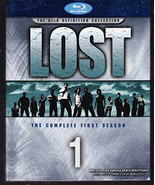 Lost (Complete Season 1) DVD Blu-ray, New In Box - $17.00