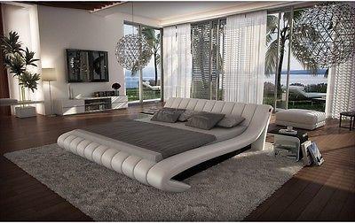 Celeste Queen Size Platform Bed Contemporary Modern Style
