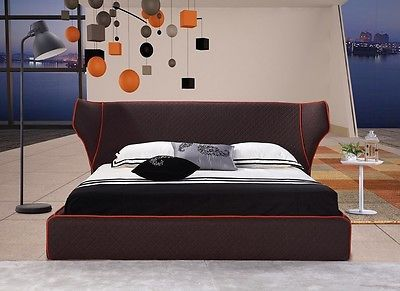 J&M Chanelle Queen Size Platform Bed Contemporary Modern Style LooK