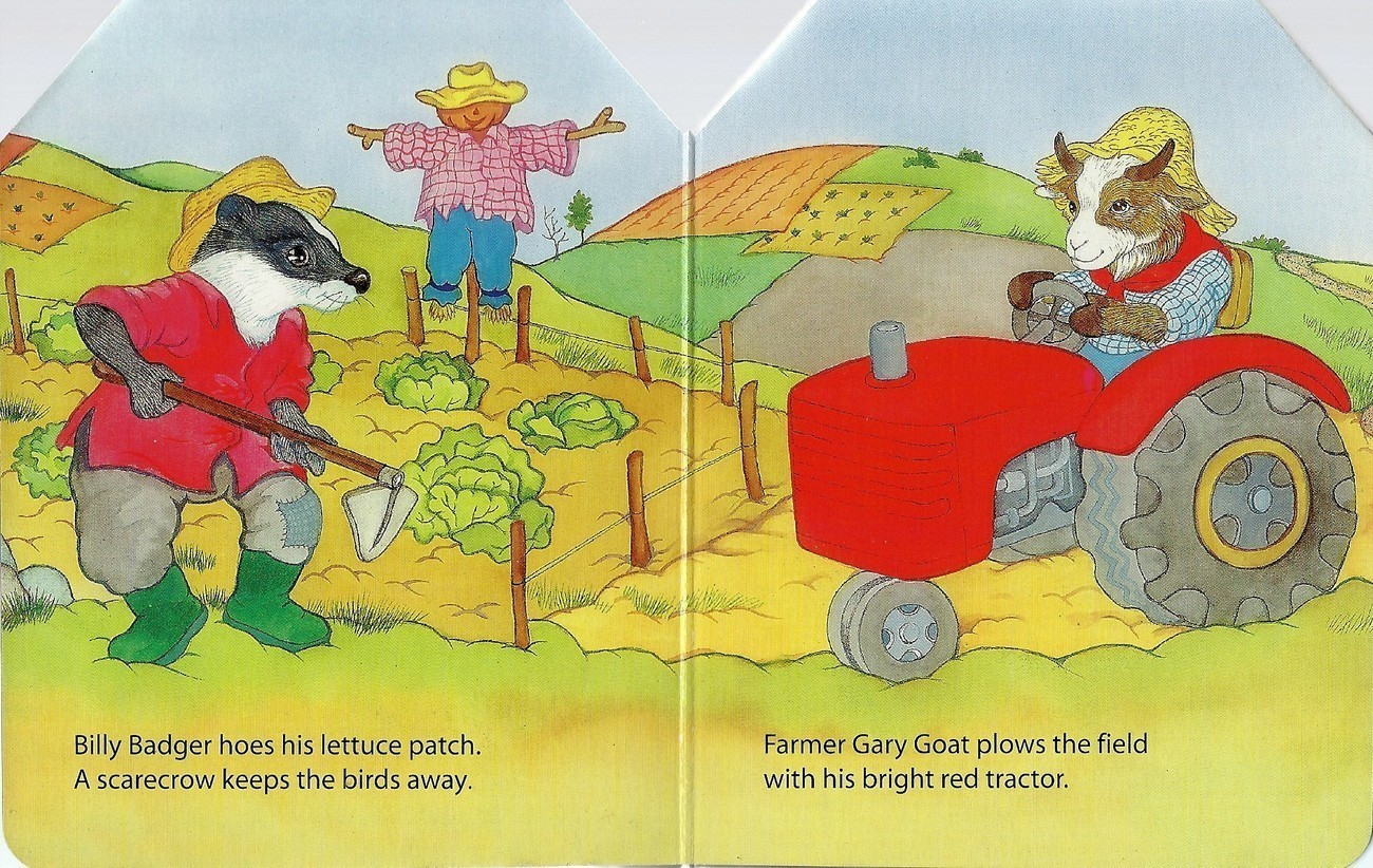 Work Pals In The Country by Jane Brierley Board Book 2002