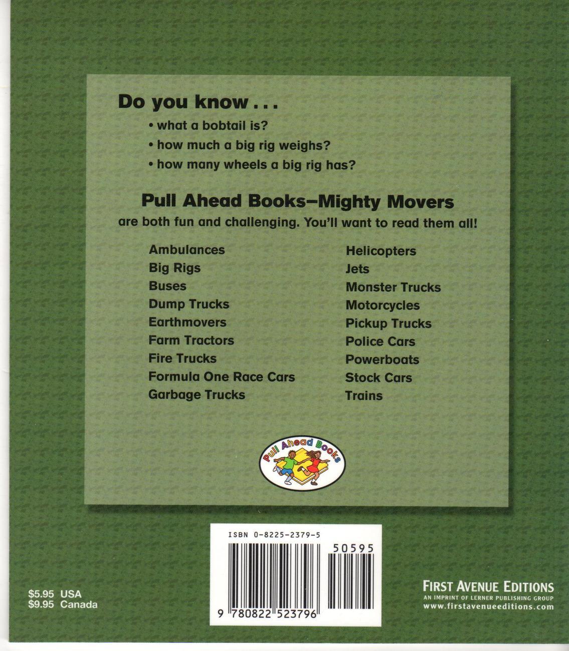 Big Rigs (Pull Ahead Books) [Paperback]