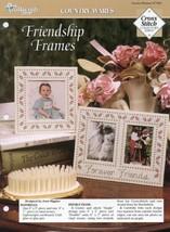 Friendship Photo Frames TNS Cross Stitch Pattern - 30 Days to Shop & Pay! - $1.77
