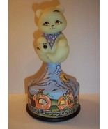 Fenton Glass OOAK Haunted Halloween Fright Trai... - $324.95