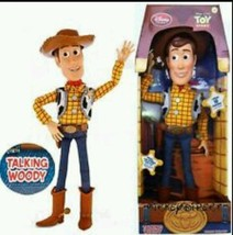 "Toy Story Pull String Woody 16"" Talking Disney Movie Kids Doll Children ... - $44.74"