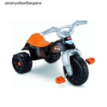 Boys Tricycle Fisher Price Kids Bike Motorcycle Lights Sounds Ride Trike... - $69.81
