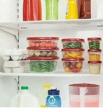 Food Microwave Lid Storage Set Plastic 42-Piece Leftovers Freezer Refrig... - €35,84 EUR