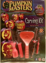 Pumpkin Carving Kit Stronger Tools Halloween Thanksgiving Set Pack Faces... - £14.18 GBP