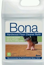 Bona Hardwood Floor Cleaner Refill 128-Ounce Big Huge Bottle Floors Clea... - $44.88