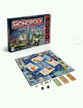 Monopoly Here & Now Table Board Game US Edition Family Group America Spe... - $56.09