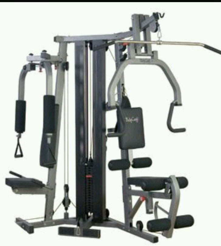 Weights Home Gym Pecdeck Extension Leg Curl Lat Pull Body ...