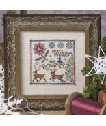 The Winter Deer cross stitch chart Jeanette Dou... - $10.80