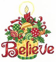 Believe Ornaments cross stitch chart Imaginating - $5.40