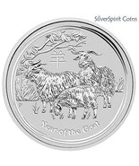 2015 20 X YEAR OF THE GOAT Lunar 1oz Pure Silve... - ₨47,746.08 INR
