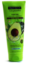 2 TUBE FREEMAN PURIFYING AVOCADO+OATMEAL CLAY MASK 175ML - $38.90