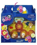 NEW SEALED Littlest Pet Shop Pet Triplets Hamsters With Carrying Case NIP Petrip - $24.72