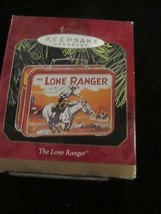 HALLMARK KEEPSAKE ORNAMENT 1997 THE LONE RANGER NOSTALGIC LUNCH BOX NEW - $9.99