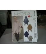 McCall's M6209 Misses Poncho & Belt Pattern - Size L/XL/XXL (16-26) Bust... - $14.84
