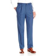 Haggar Men's Cool 18 Pro Classic Fit Pleat Front Expandable Waist Pant - $43.49