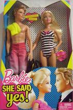 BARBIE KEN TOGETHER AGAIN SHE SAID YES! NRFB - $15.35