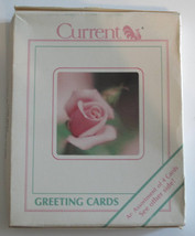Flower Blossoms Vintage Stationery 8 Note Cards with Envelopes - $9.01