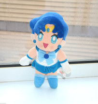 Sailor Mercury plush Sailor Moon stuffed toy Banpresto japan 1994 - $19.79