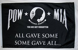 POW MIA All Give Some Some Gave All 3' X 5' Indoor Outdoor Military Banner - $9.95