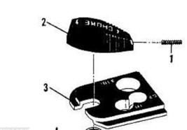 68659 Choke Knob, Screw + Plate Mcculloch Power Mac 6 - $20.99
