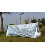 First Aid Emergency Shelter Tent PET Aluminized Film Outdoor Summer Camp... - $7.00