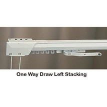 "Superfine Traverse One-Way Draw /Left Curtain Rod (100"" - 180"" ) MPN#3236025 - $77.99"