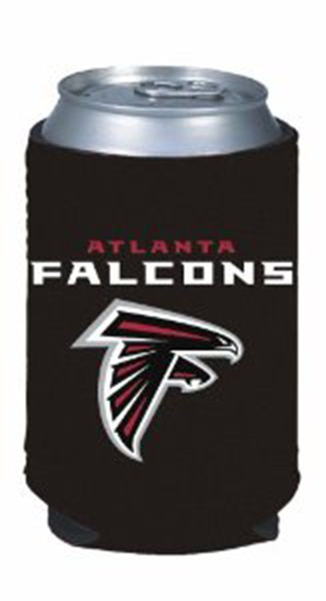2 ATLANTA FALCONS BEER SODA WATER CAN KADDY KOOZIE HOLDER NFL FOOTBALL