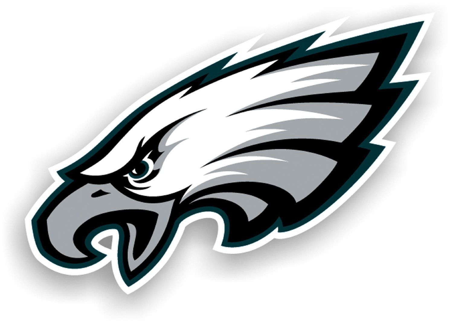 "PHILADELPHIA EAGLES *BIG* 12"" MAGNET for CAR AUTO FRIDGE METAL NFL FOOTBALL"
