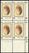 1926 Black Color Shift MAJOR ERROR - PL# Block - 18¢ Mint NH - Stuart Katz - $85.00