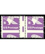 "1818 Var, Mint NH ""B"" Stamp - RARE HORIZONTAL GUTTER PAIR Stuart Katz - $300.00"