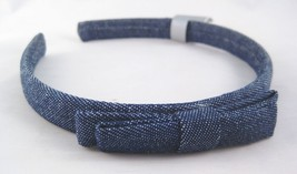 Very Cute New Denim Headband With Bow NWT From Target #H0127 - €3,54 EUR