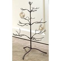 Metal Ornament Display Tree 25 Inches Tall ~ Mahogany Finish - $56.01