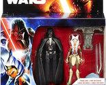Star Wars Rebels Darth Vader and Ahsoka Tano Space Mission figure 2 pk