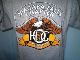 Harley davidson gray hog t shirt large niagara falls  new york nwot 2 thumb200