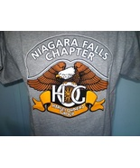 Harley-Davidson Gray HOG T-Shirt Large Niagara Falls, New York NWOT - $30.00