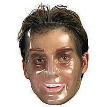 TRANSPARENT YOUNG MAN MASK - $5.00