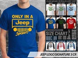 T Shirt Jeep Automotive Theme Many Color  - $9.99+