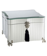 Handmade Classic Glamour Mirrored Jewelery Box - $99.00