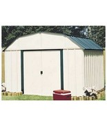 Vinyl-Coated Steel Shed - 10' x 8 ,Outdoor Storage Shed,Metal Shed.Tool ... - $899.99